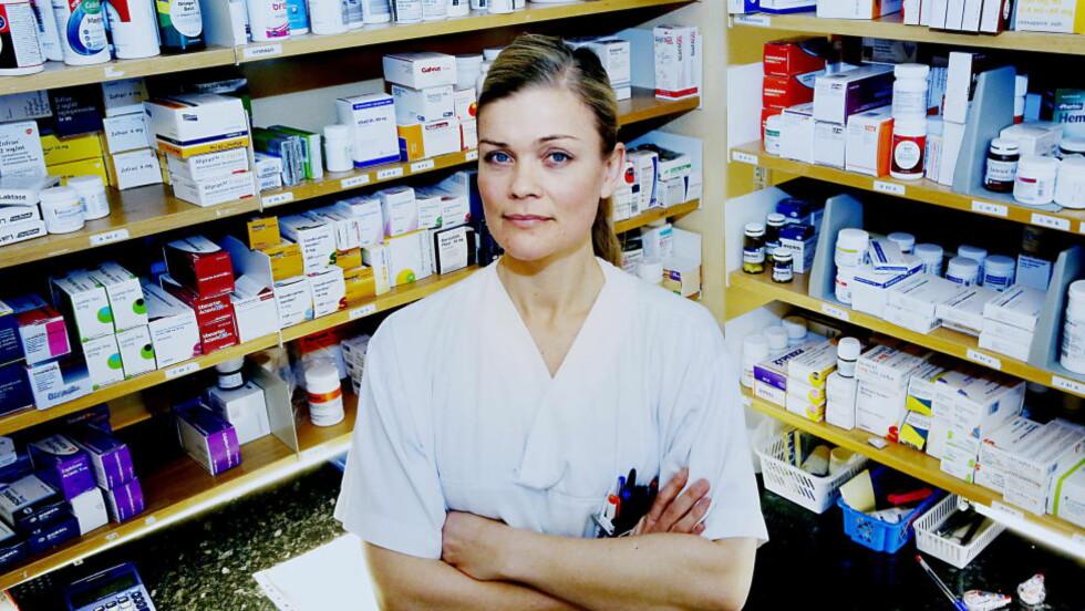 URETTFERDIG: Kardiologisk sykepleier Christin Skogen synes de som jobber i de kvinnedominerte yrkene fortjener bedre lønn. Foto: Jacques Hvistendahl