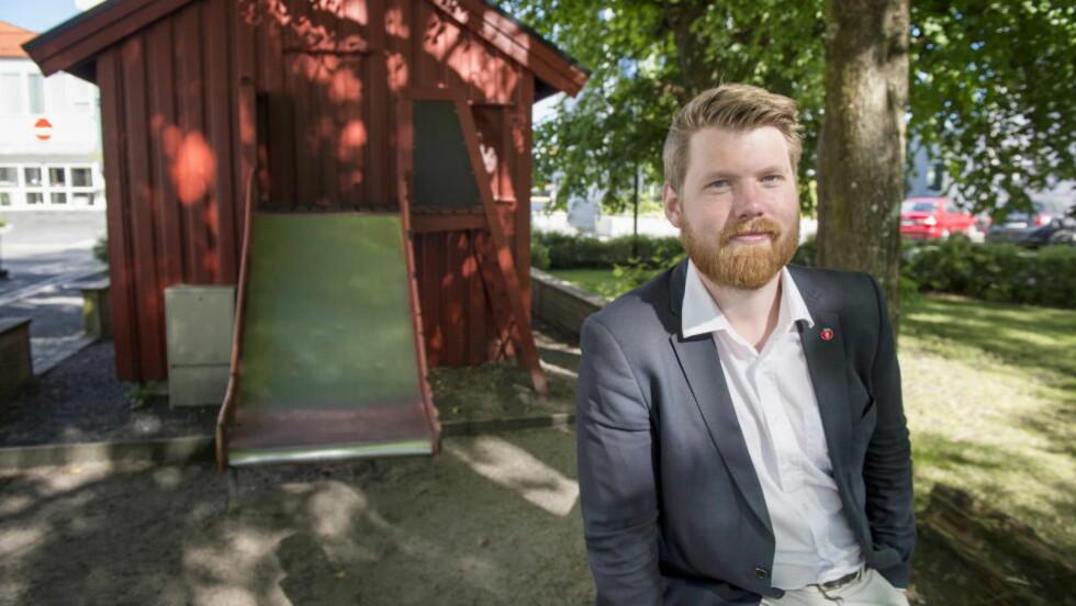 ENSTEMMIG: Et enstemmig landsstyre i Frp går inn for å tillate pepperspray. Fpu-leder Atle Simonsen sier politiet ikke kan stoppe enhver voldtekt. Foto: Øistein Norum Monsen / Dagbladet