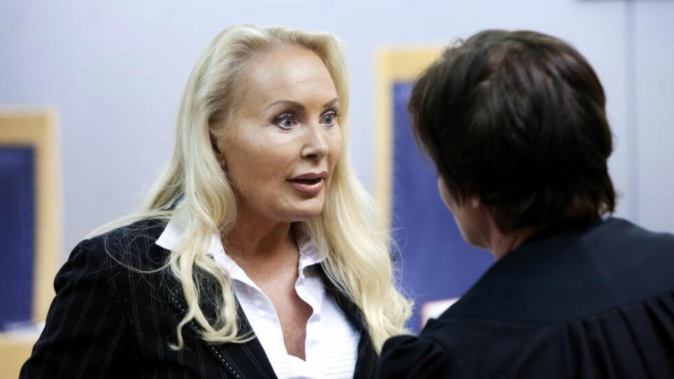 ARVET 100 MILLIONER:  Kjendisadvokat Mona Høiness ble beskyldt for å forfalske testamentet til ekteparet Per Urdahl og Synnøve Alver Urdahl. Foto: Henning Lillegård/Dagbladet.