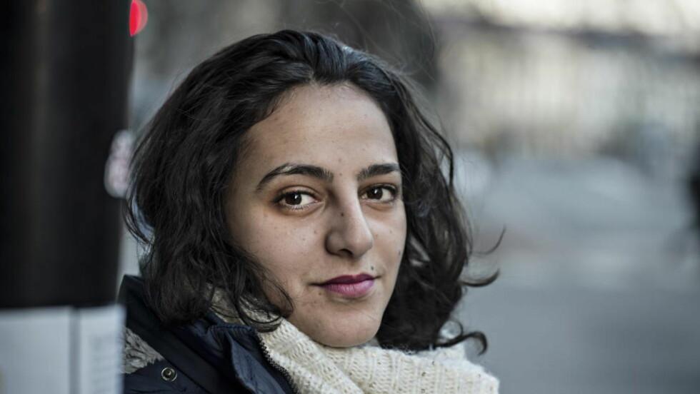 ALVORLIG: Jemenittiske Wojoud Mejalli sier ektemannen har det bra, forholdene tatt i betraktning. Men vil ha ham hjem så fort som mulig. Foto: Hans Arne Vedlog  / Dagbladet