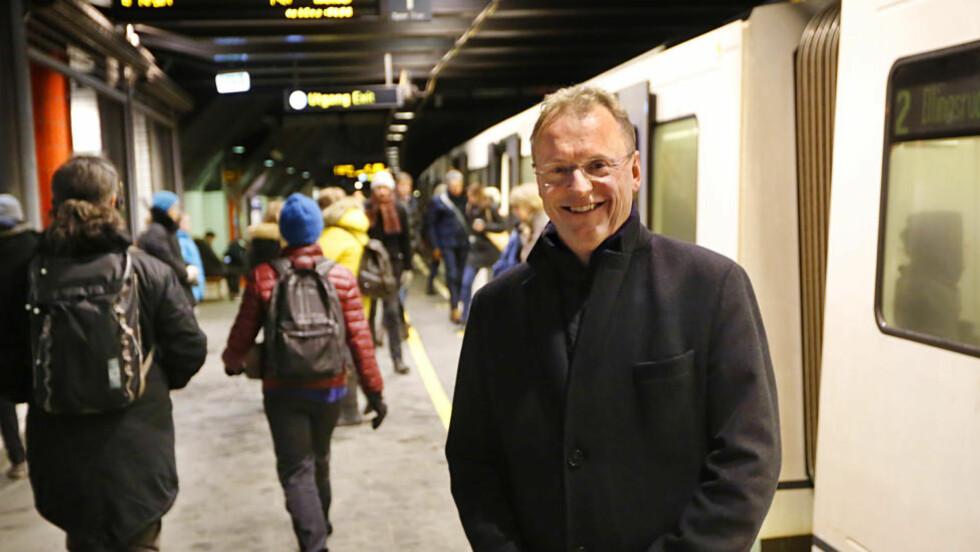 VIL VÆRE BYREGJERINGSSJEF:  Det første Raymond Johansen gjorde da han tok over makta i Oslo var å kunngjøre at byrådet skulle endre navnet til byregjeringen. Nå har navnebyttet fått nok et skudd for baugen.