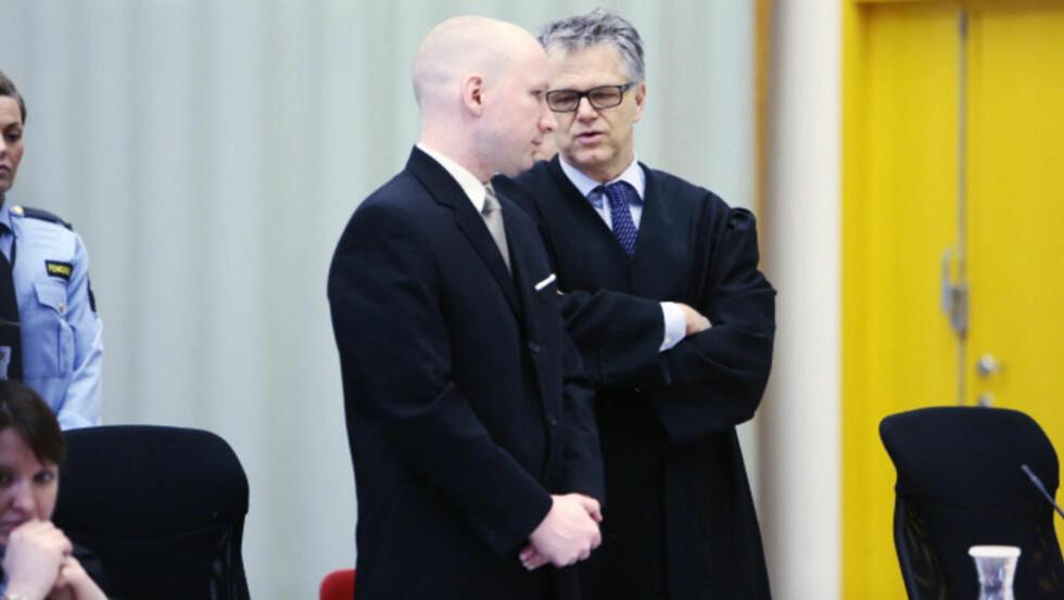 FORKLARER SEG I RETTEN I DAG: Anders Behring Breivik. Foto: Nina Hansen / Dagbladet