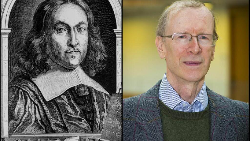 FANT LØSNINGEN: Pierre de Fermat (t.v.) kunne på 1600-tallet fortelle at han hadde «oppdaget et vidunderlig bevis, men det var for stort til å få plass i margen». Det tok matematikerne over 300 år å finne det. Nå har Andrew Wiles (t.h.) blitt tildelt Abel-prisen for innsatsen. Foto: NTB Scanpix