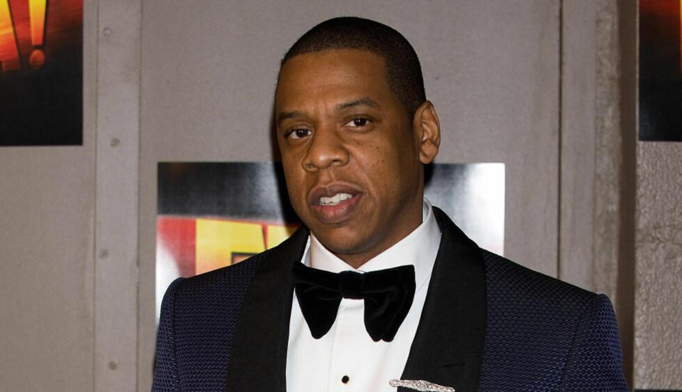 GÅR RETTENS VEI: Den amerikanske rapperen Jay Z vil gå rettens vei for å få kompensert for å ha betalt for mye penger - 464 millioner svenske kroner - da han kjøpte den norske musikkstrømmetjenesten Wimp. Foto: AP / NTB Scanpix