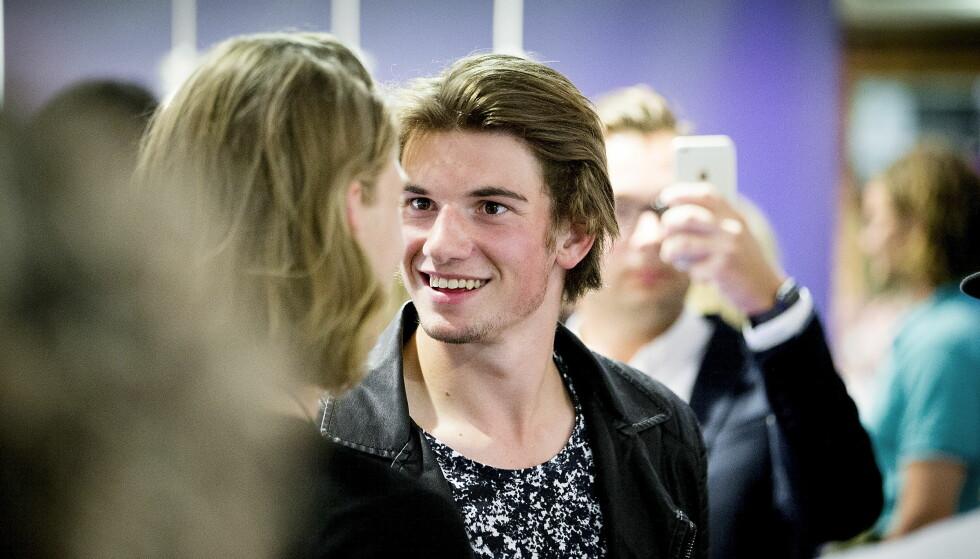 SLUTTER I «SKAM»: Thomas Hayes som har spilt den populære karakteren William slutter i TV-serien. Foto: Bjørn Langsem / Dagbladet