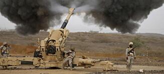 Norge er våpenversting, sammen med Russland, Kina og Saudi-Arabia