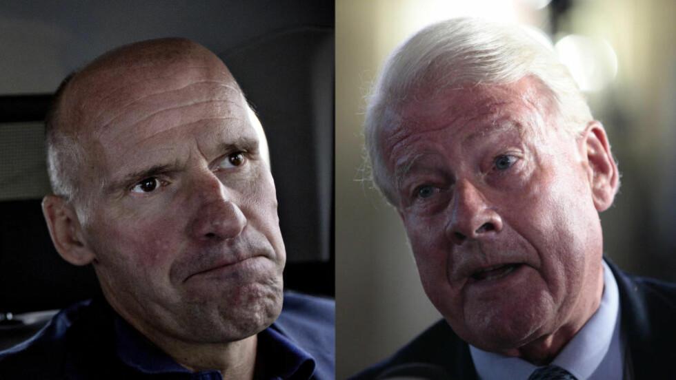 SLÅR TILBAKE MOT HAGEN: Advokat og byråd Geir Lippestad slår tilbake mot Carl I. Hagen som slår alarm om parallellsamfunn i Oslo. Foto: Bjørn Langsem / Dagbladet