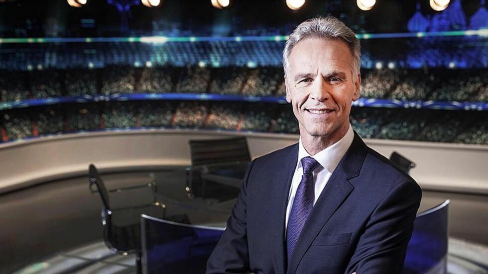 FIKK SLAG: Rune Bratseth (55) fortalte denne uka om at han har hatt hjerneslag. Foto: MGT TV
