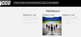 Norwegian Wood: To måneder før start er festivalledelsen taus