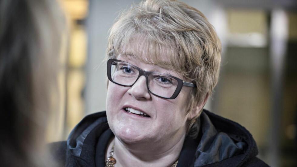 FORESLÅR HEN: Partileder Trine Skei Grande og hennes Venstre mener det er på tide at Norge får et tredje kjønn. De trekker parelleller til homofilidebatten.  Foto: Hans Arne Vedlog  / Dagbladet