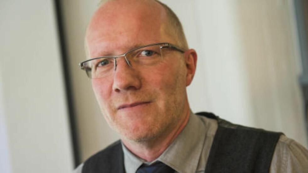 ARNE JENSEN:  - Jeg tenker at medieorganisasjonene har mye usnakket med Anders Anundsen, sier Arne Jensen. Foto: Fredrik Varfjell / NTB scanpix