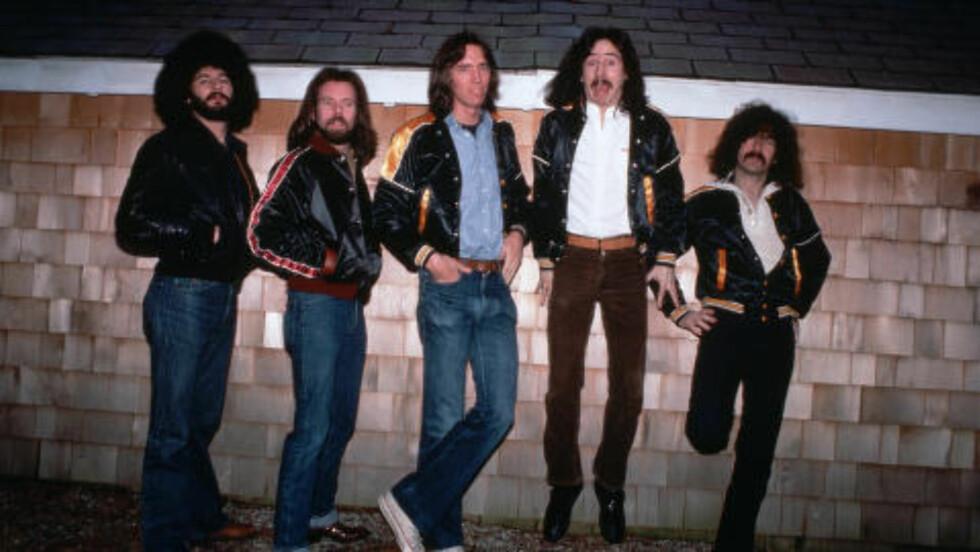 PROTESTERER: Rockerne i det amerikanske bandet Boston, her fra 1979, har også avlyst sin planlagte konsert i Nord-Carolina i protest mot den nye loven. Foto: Lynn Goldsmith/Corbis/NTB Scanpix