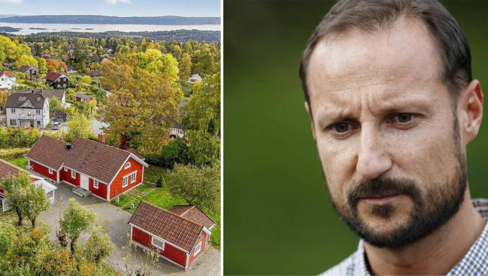HOFFGARTNERE: Slottets hoffgartnere arbeidet på kronprins Haakons eiendom før den ble solgt i fjor sommer. Inntekter fra salget fikk til kronprinsen privat. Foto: Cornelius Poppe / NTB scanpix /Krogsveen med tillatelse