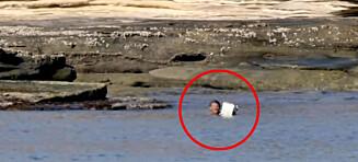 TV-team redder mann fra øde øy: - Trodde han skulle dø