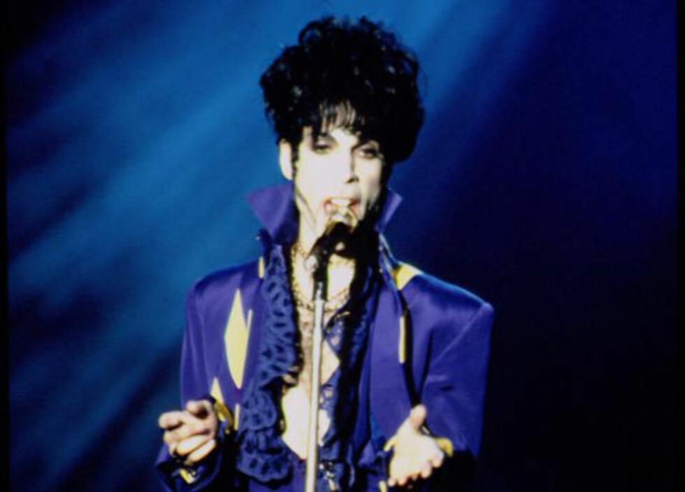 DØDE I GÅR: Prince ble 57 år gammel. Foto NTB Scanpix