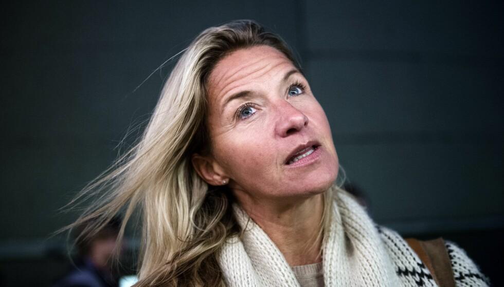 <strong>TAKKNEMLIG:</strong> Kristin Kaspersen avslører i en svensk podcast at hun nylig ble diagnostisert med ADHD. Selv om 46-åringen erkjenner at diagnosen har gitt henne utfordringer både som barn og voksen, sier hun at hun er takknemlig for drivkraften ADHD har gitt henne. Foto: Margarets Sandebäck / Aftonbladet / IBL Bildbyrå / NTB Scanpix