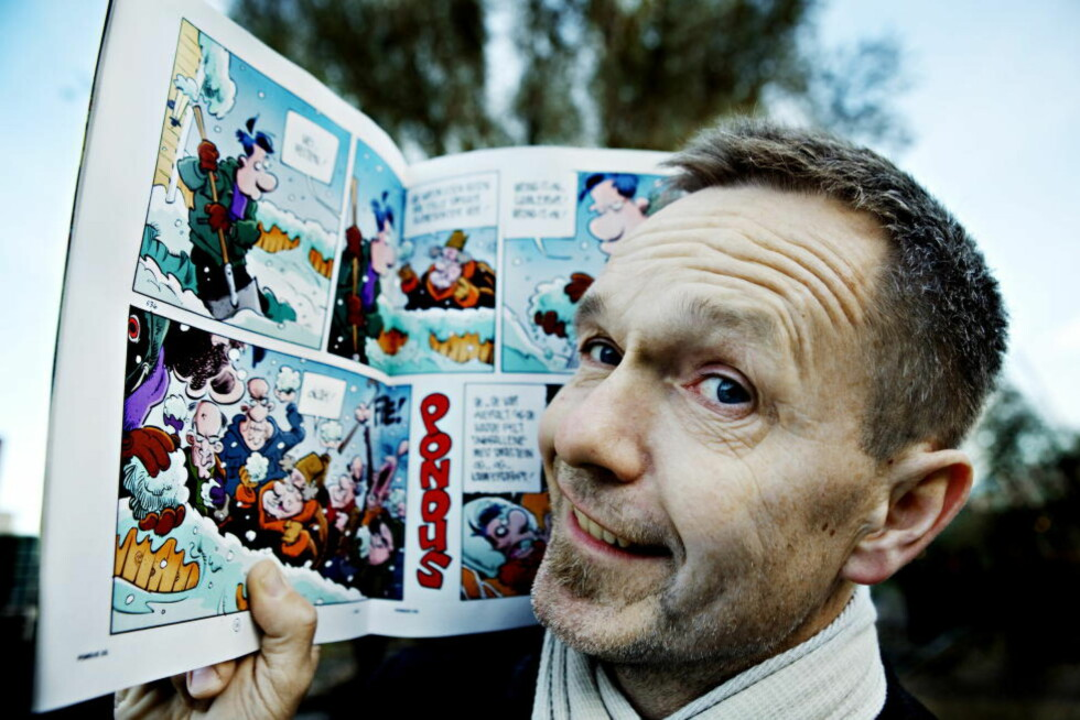 POPULÆR: «Pondus»-skaper Frode Øverli har gjort gode penger på tegneserier, men starten av karrieren var ikke spesielt lukrativ. Foto: NINA HANSEN/DAGBLADET