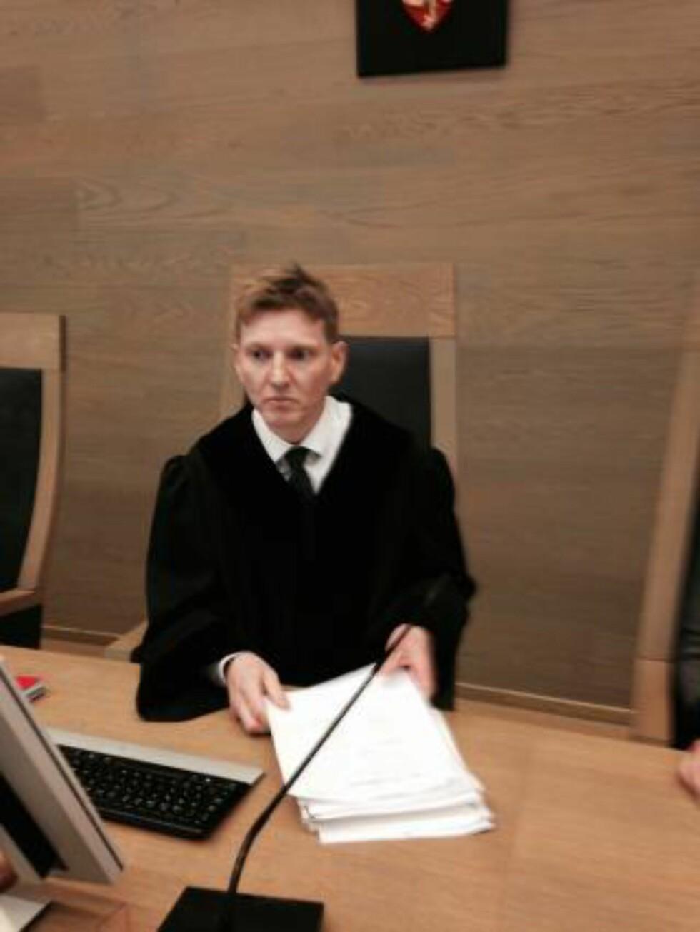 DOMMER:  Tingrettsdommer Ola Rambjør Eide administrerer den tre uke lange overgrepssaken i Gjøvik tingrett. FOTO: ØYSTEIN ANDERSEN/DAGBLADET.