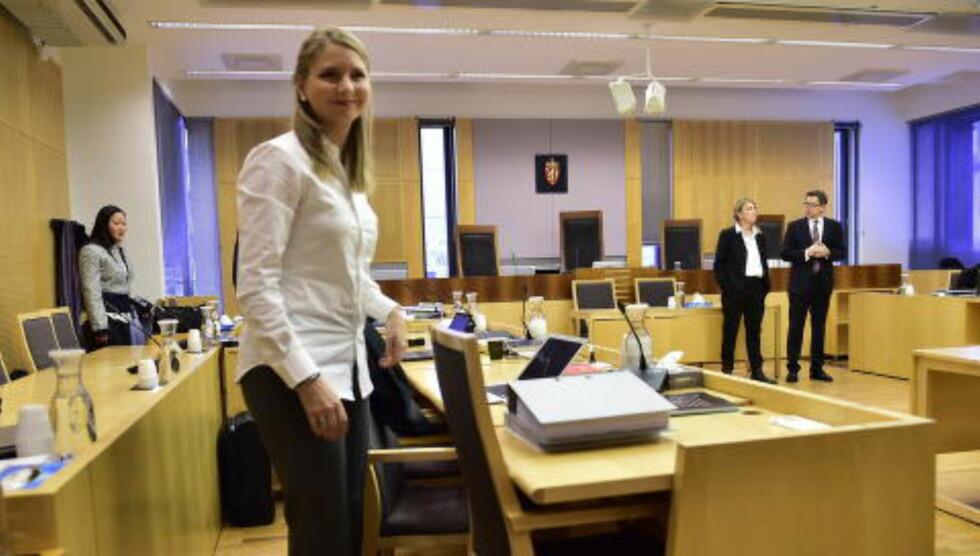 KREVER 150 000: Bistandsadvokat Camilla Hunn fremmet krav om 150 000 kroner i oppreisning for sin klient, en 25-årig kvinne som Kopseng ifølge tiltalen voldtok på et hotell på Hønefoss i 2012. Foto: Lars Eivind Bones / Dagbladet