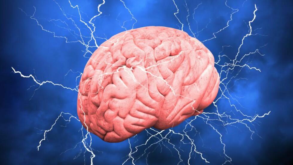 Norsk forskning viser at unge menn som tar høy risiko, har aktive hjerner. Foto: NTB Scanpix