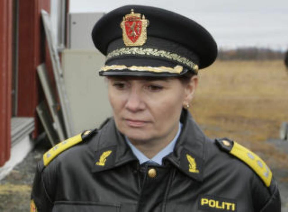FINNMARK:  Politimester Ellen Katrine Hætta. Foto: Vidar Ruud / NTB scanpix