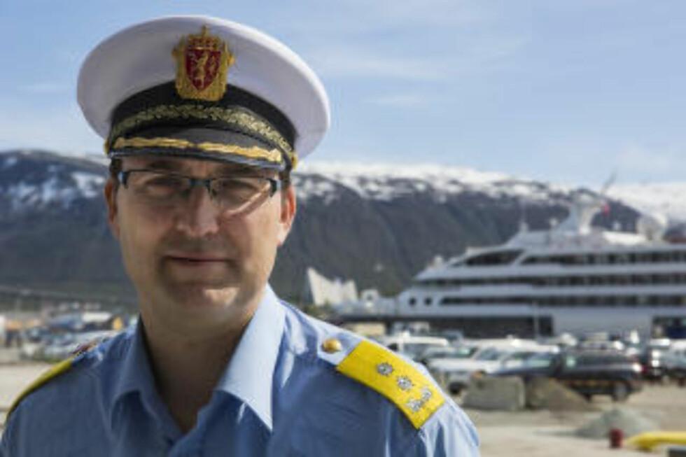 TROMS:  Politimester Ole B. Sæverud Foto: Jan-Morten Bjørnbakk / NTB scanpix