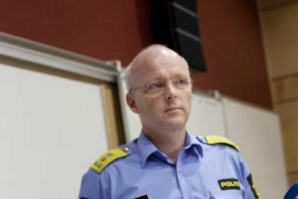 ROGALAND:  politimester Hans Vik. Foto: Tomas Larsen / NTB scanpix