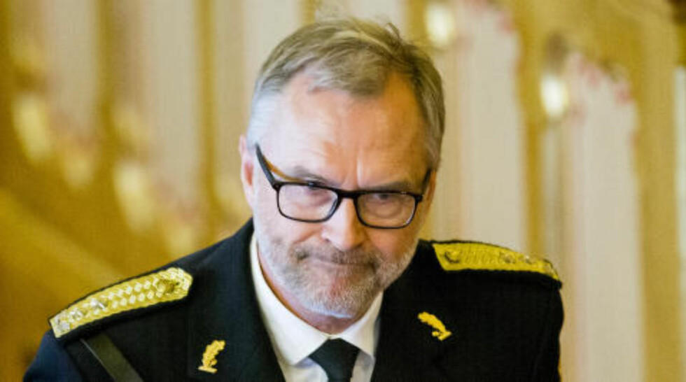 OSLO:  Politimester Hans Sverre Sjøvold.  Foto: Vegard Wivestad Grøtt / NTB scanpix
