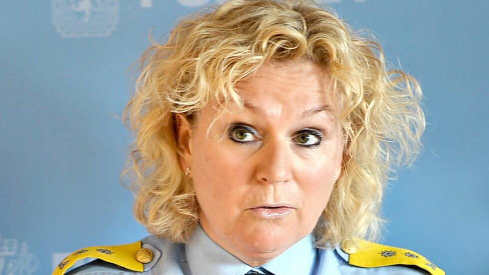 SØR-ØST :  Politimester Christine Fossen. Foto: Thomas Rasmus Skaug / Dagbladet.