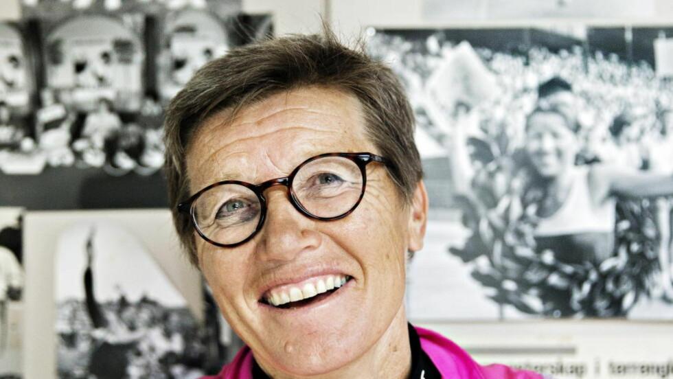 BLIR OPPRØRT. Den tidligere løperdronninga Ingrid Kristiansen mener at advarsler til ungdommen mot å satse på idretten er feil. Foto: Nina Hansen / Dagbladet