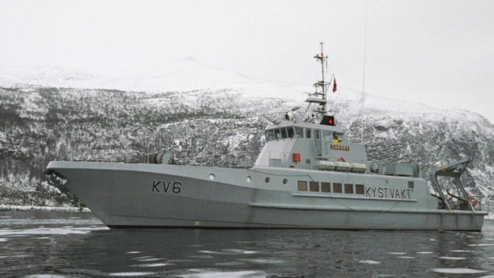 SOLGT: Kystvakskipet Garsøy ble eksportert uten at den ble deklarert til Tollvesenet. Båten ble solgt i 2009 til TP Offshore APS for 6,3 millioner kroner. Foto: Forsvaret