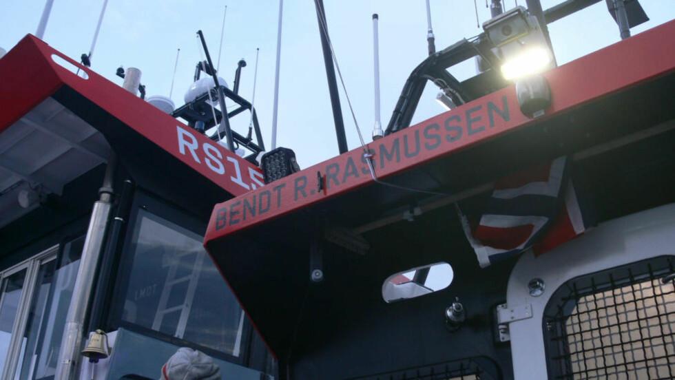 BLE SENDT UT I DAG: Bendt R. Rasmussen er en av Redningsselskapets redningsskøyter i Kristiansand. Foto: Redningsselskapet Kristiansand