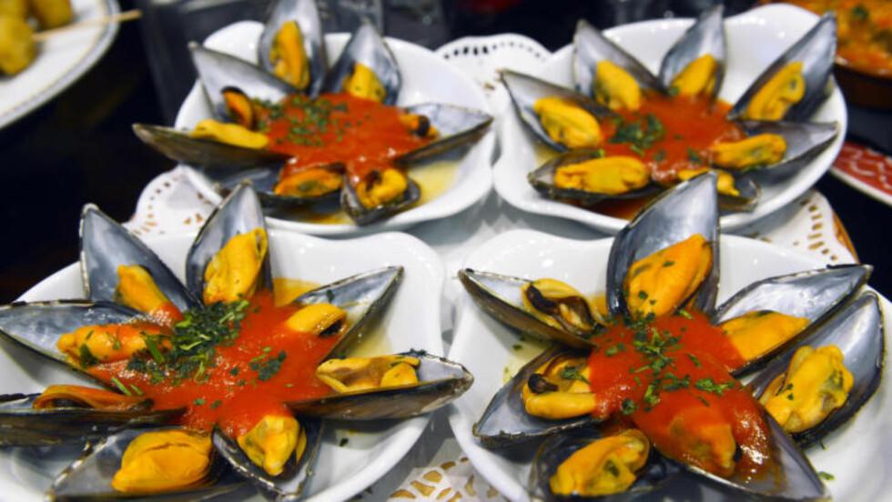 STOLT TRADISJON: San Sebastián har  sin egen tradisjon for pintxos, en form for mer forseggjorte tapas. Foto: GJERMUND GLESNES