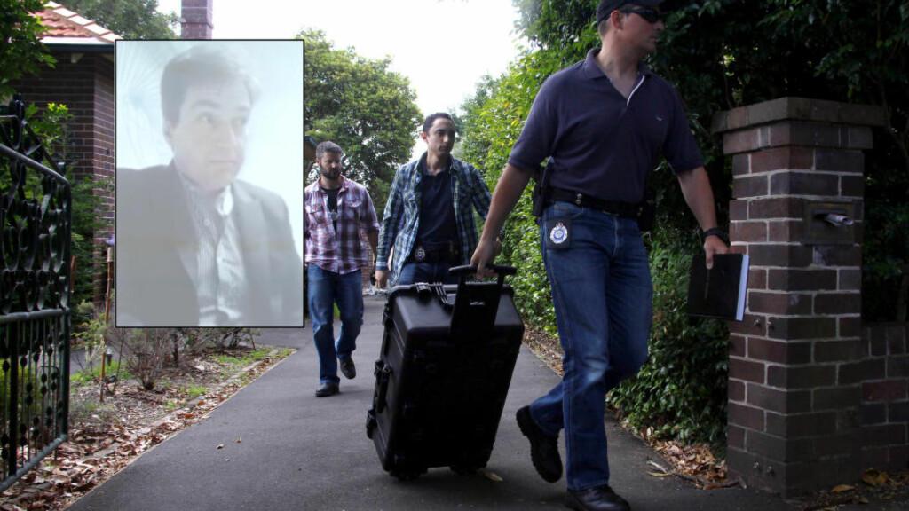 AKSJONERTE: Australsk politi gikk i dag til aksjon mot boligen til Craig Steven Wright, som i går ble omtalt som skaperen av den omstridte virtuelle valutaen bitcoin. Ifølge politiet aksjonerte de på grunn av en individuell skattesak. Foto: Reuters / NTB scanpix. Skjermdump: Youtube