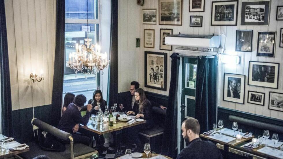 NY RETTSPRAKSIS:  Restaurant Justisen innfrir forventningene. Det er nytt og fresht, samtidig som mye av det gamle har fått være med videre. Foto:THOMAS RASMUS SKAUG