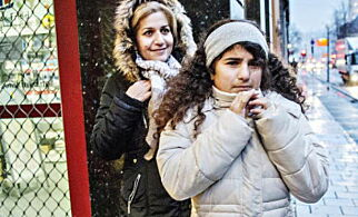 Nawjin (9) og Hawjin (11) har alltid bodd i Norge. I dag kom tingrettsdommen: Jentene må til Iran