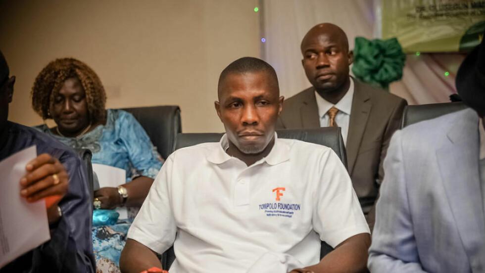 SLÅR TILBAKE: Krigsherren Government «Tompolo» Ekpemupolo advarer nigerianske myndigheter, som han mener presser ham til å gå til krig. Foto: Privat