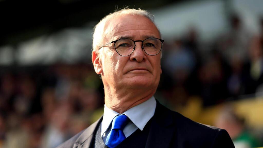SUKSESSMANN. Claudio Ranieri opplever en enorm suksess i Leicester. Han fikk sparken i Chelsea. Mandag kveld møtes de to klubbene i Premier League. Da er det følelser i sving. Foto: PA/NTB scanpix.