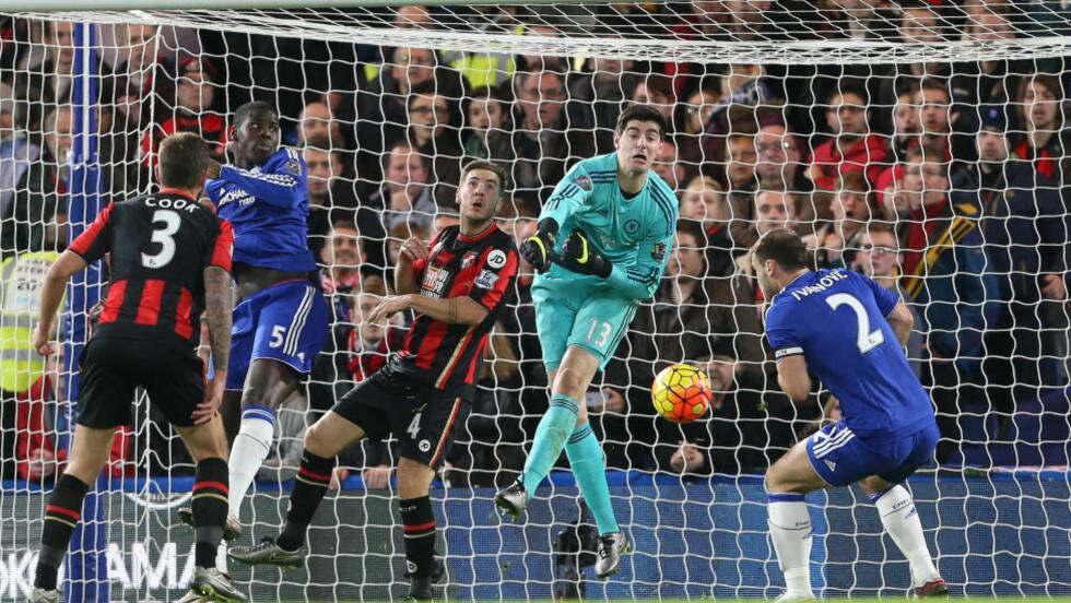 Oddsbombe: Her glipper det for Chelsea, som tapte 0-1 hjemme mot Bournemouth tidlig i desember. En av mange store overraskelser i Premier League denne sesongen, og en av mange lønnsomme overraskelser for de som har spilt mot favorittene. FOTO: SIpaUSA/David Klein/Sportimage/Cal Sport Media.