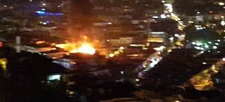 Alvorlige opptøyer i feriebyen Alanya - flere utesteder satt i brann