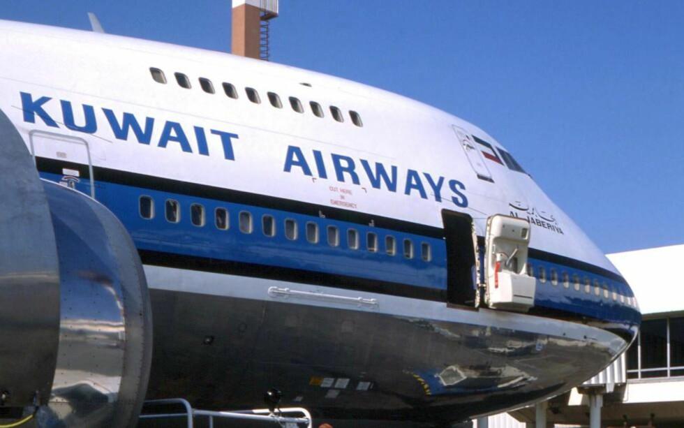 NEKTER Å FØYE SEG ETTER USA:  Flyselskapet Kuwait Airlines har lagt ned sin rute mellom storbyene New York og London. Dette etter press fra amerikanske myndigheter om å føye seg etter landets antidiskrimineringslover. Foto: Scanpix