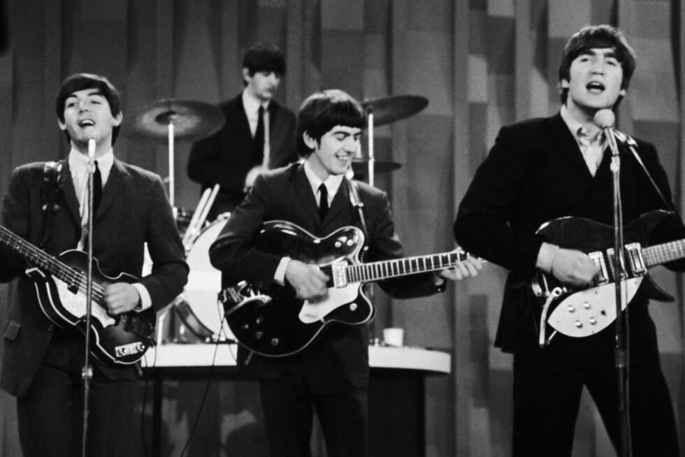 BLIR TILGJENGELIG: 51 år etter at de opptrådde på amerikansk tv første gang kan Beatles havne på strømmetjenestene. Foto: NTB Scanpix