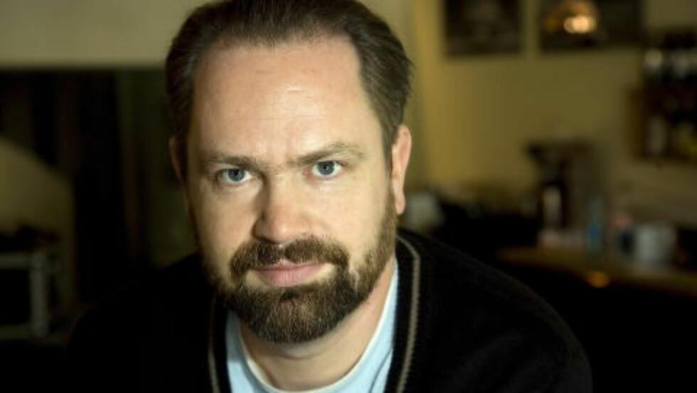 GJEST: Asbjørn Slettemark er podcast-gjest. Foto: Anders Grønneberg