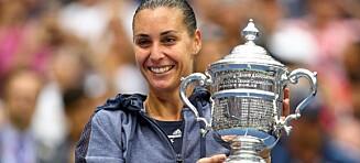 Pennetta vant US Open. Så overrasket hun alle i seiersintervjuet