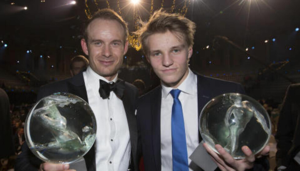 VANT I FJOR: Alexander Kristoff og Martin Ødegaard fikk prisen for henholdsvis «Årets navn» og «Årets gjennombrudd» i fjor.  Foto: Terje Bendiksby / NTB scanpix
