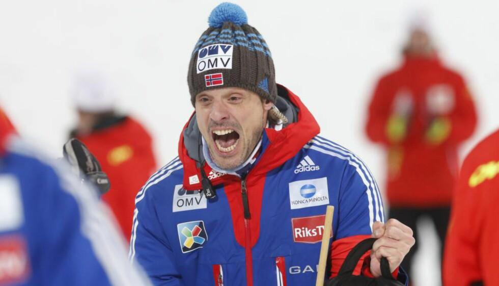 LANDSLAGSTRENER: Alexander Stöckl. Foto: Terje Bendiksby / NTB scanpix