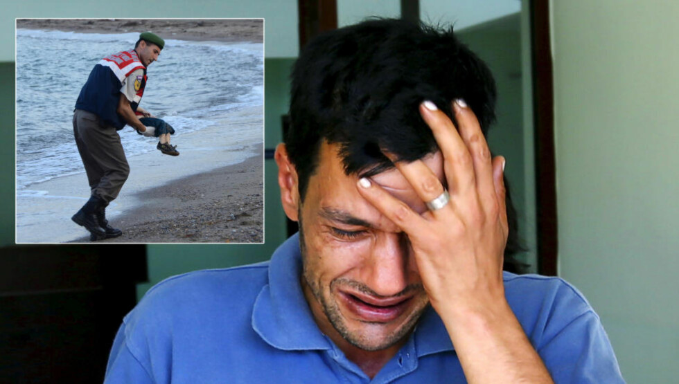 ALTERNATIV JULEAPPELL:  Faren til Aylan, Abdullah Kurdi, får i Storbritannia denne julen levere en beskjed til det britiske TV-publikummet og dermed resten av verden. Beskjeden er enkel: - Åpne dørene deres for syrere.  Foto: NTB Scanpix