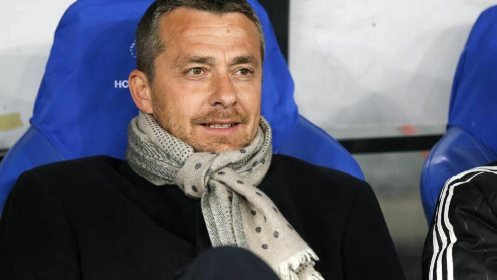 TIL FULHAM: Fulham har ansatt Slavisa Jokanovic som ny manager etter at Kit Symons fikk sparken i november. Foto: EPA/SERGEY DOLZHENKO