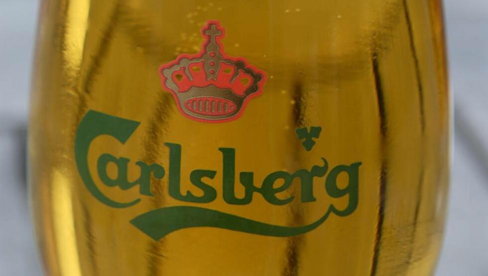 En halvliter dansk fatøl fra Carlsberg. Foto: © Sigmund Krøvel-Velle / Samfoto