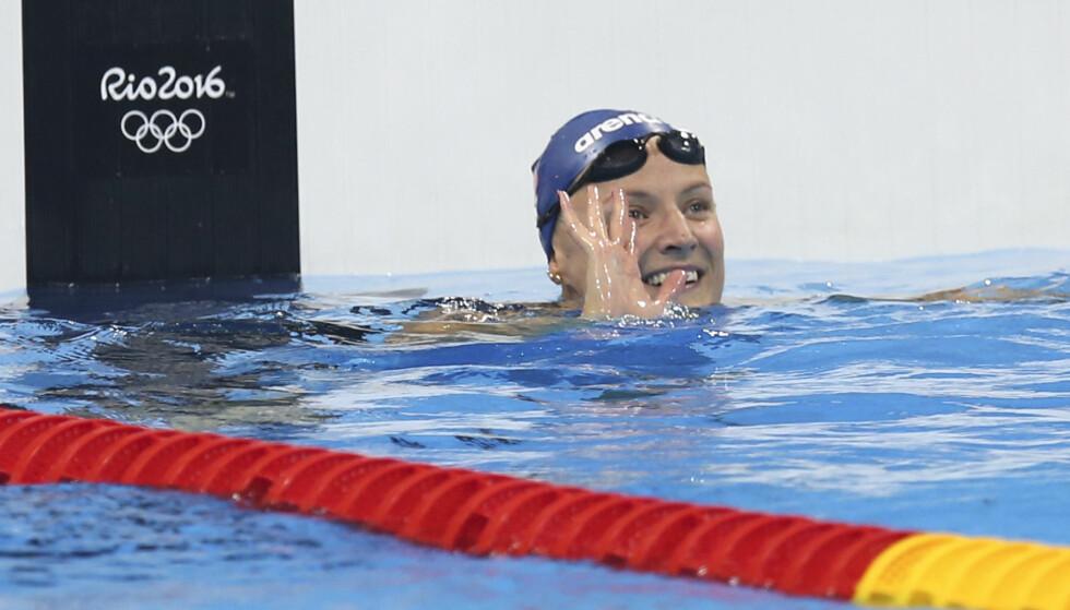 NY REKORD: Susann Bjørnsen har satt norgesrekord på både 50- og 100-meter i Rio. Foto: Vidar Ruud / NTB scanpix